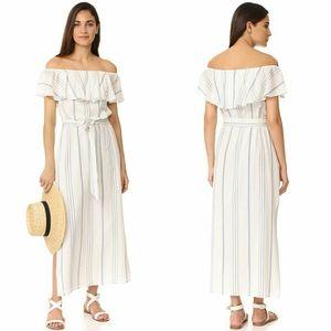 Joie Almante off the shoulder maxi dress